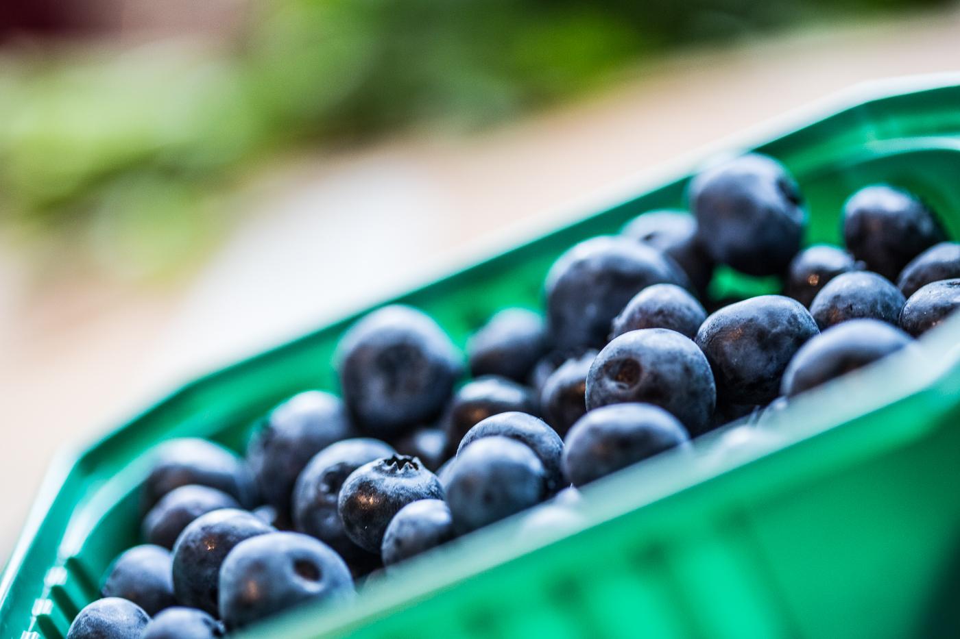 Matfotografering grønnsaker bær
