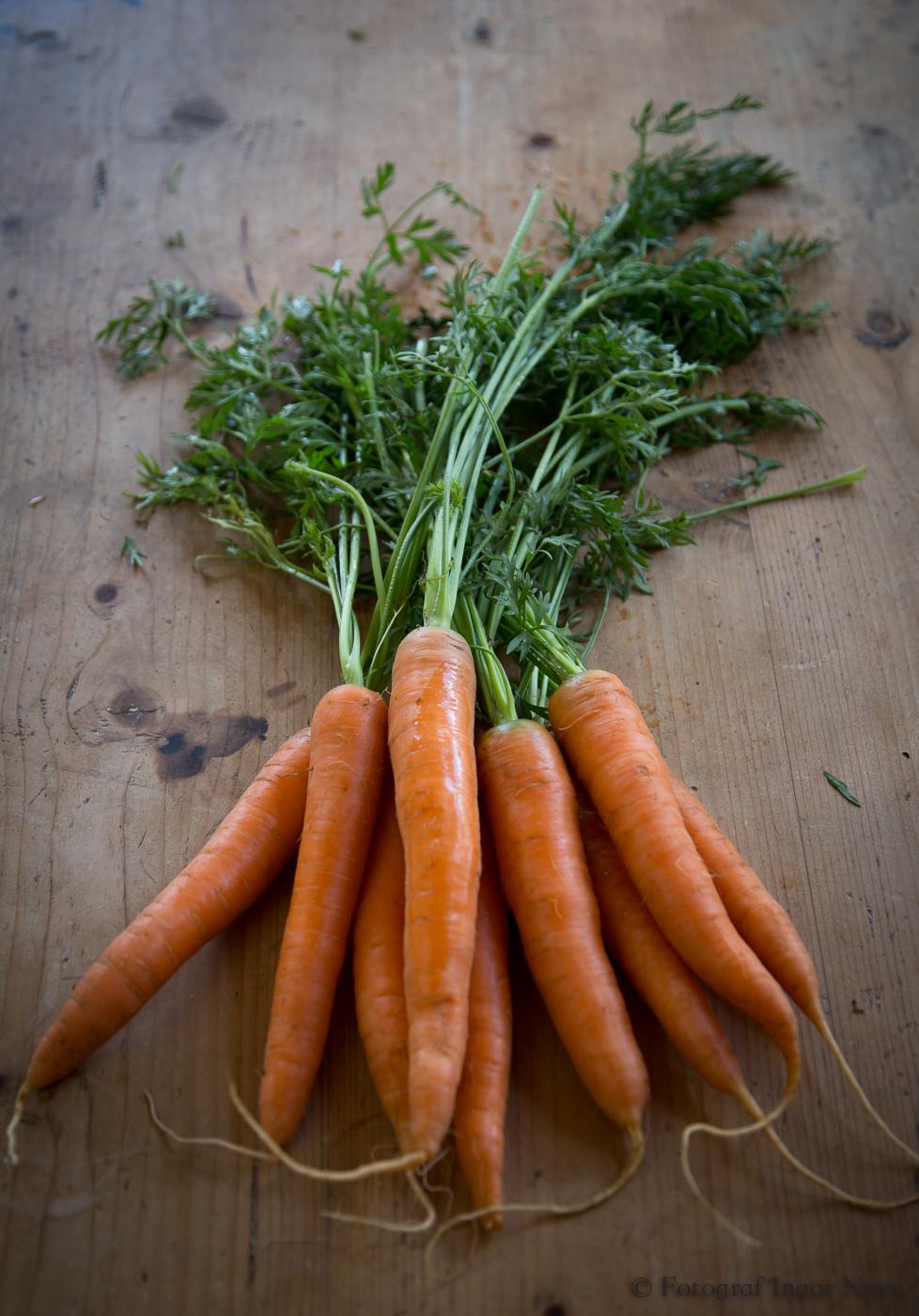 Matfotografering grønnsaker
