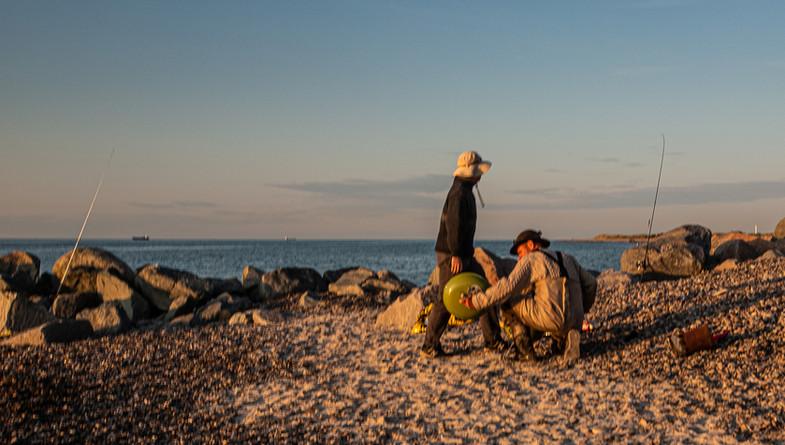 Crossklubnord, fiskere