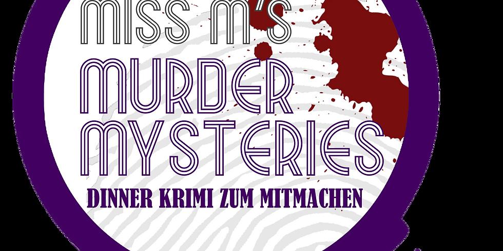 """Miss M's Murder Mystieries - Dinner Krimi """"Tödliche Erbschaft"""""""