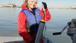 Colborne and Maguire identify legacy phosphate deposits in sediments in the Detroit River - publishe