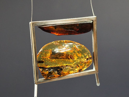 Natural Baltic Amber Necklace no.00K