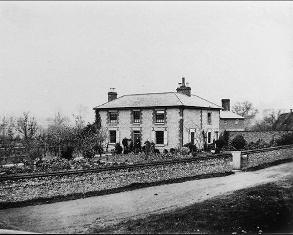 Bishop's Sutton, Holberry Cottage c1869