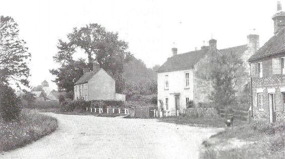 Bishop's Sutton,Mill Lane End, 1910