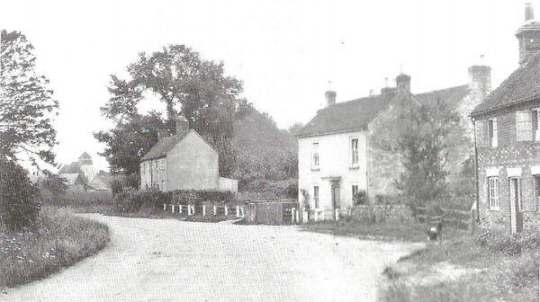 Bishop's Sutton, Mill Lane End, 1910