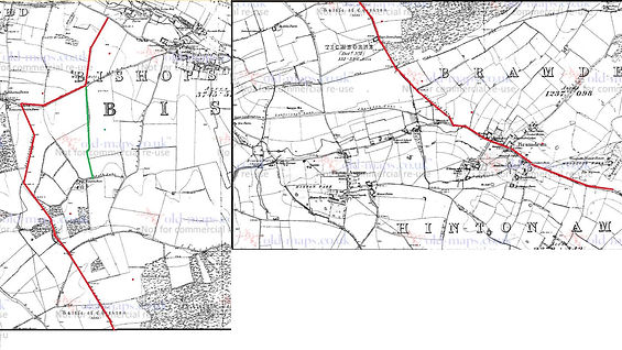 Bishop's Sutton, Mud Lane or Mortimers Track