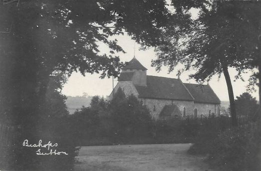 Bishop's Sutton, St Nicholas Church c1910