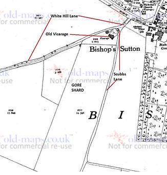 Bishop's Sutton, Gore Shard Field 1940