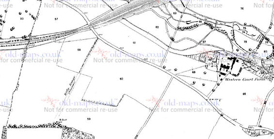 Bishop's Sutton, site map of the rifle range of The 16th. Hampshire Rifle Volunteer Corps