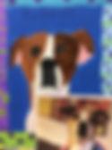 scout painting badge, pet portrait
