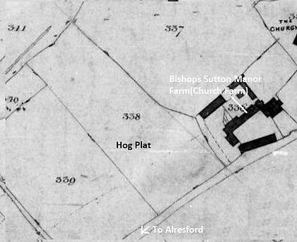 Bishop's Sutton,  Hogs Plat
