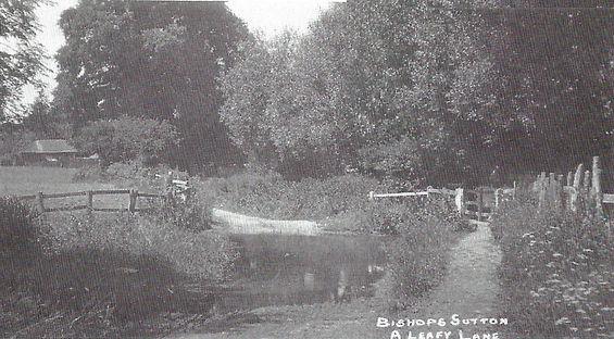 Water Lane, Bishop's Sutton