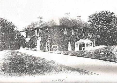 Bishop's Sutton, the Elms 1903