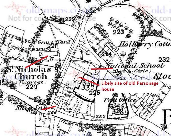 Bishop's Sutton, The Old Parsonage