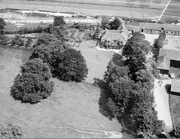 Bishop's Sutton, Western Court Farm 1947