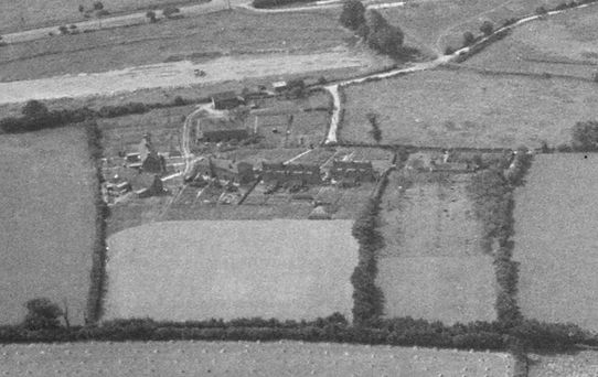 Bishop's Sutton, Hobbs Close 1947 -  from the North