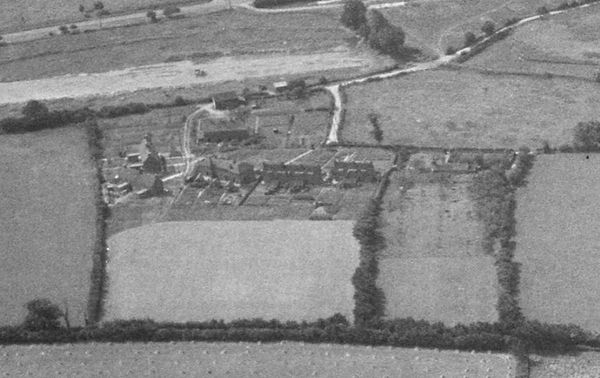 Hobbs Close, Bishop's Sutton in 1947 - from the North