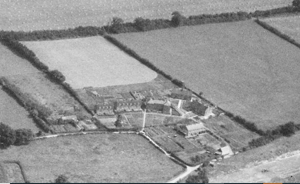 Hobbs Close, Bishop's Sutton in 1947 - from the south