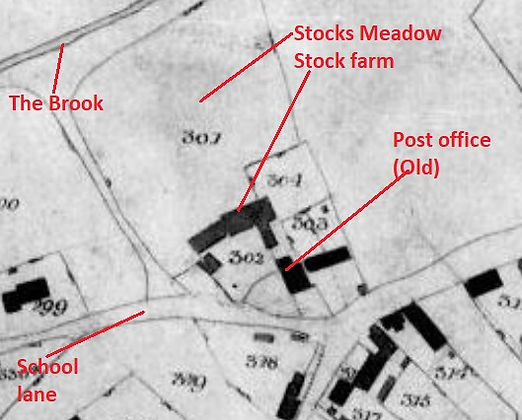 Bishop's Sutton, Stocks Farm 1839