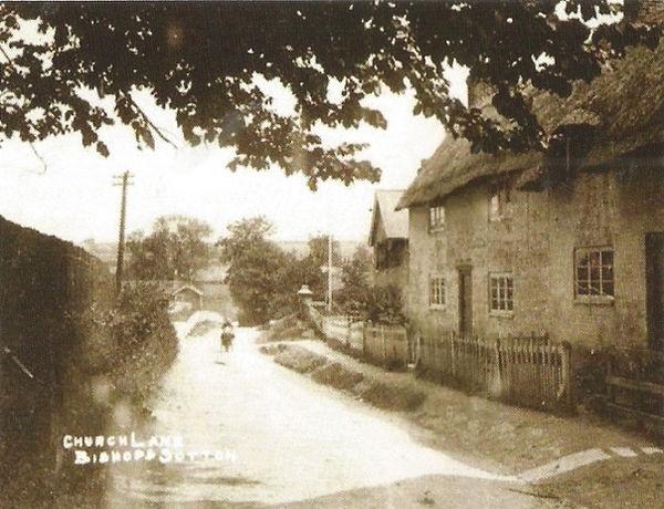 Bishop's Sutton, Church Lane 1910