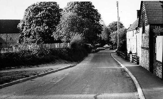Bishop's Sutton, Church Lane, 1960s