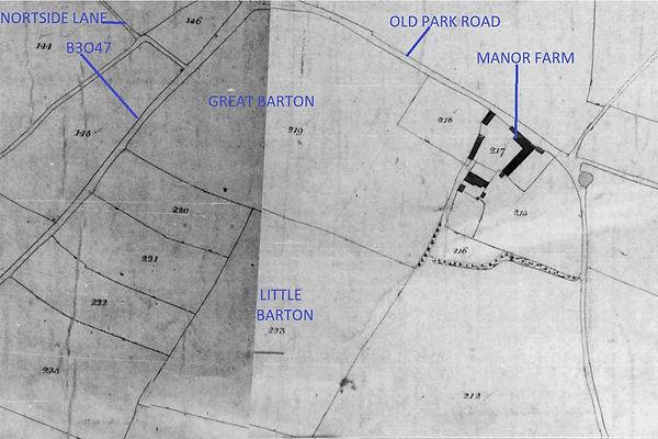 Bishop's Sutton, Great & Little Barton fields