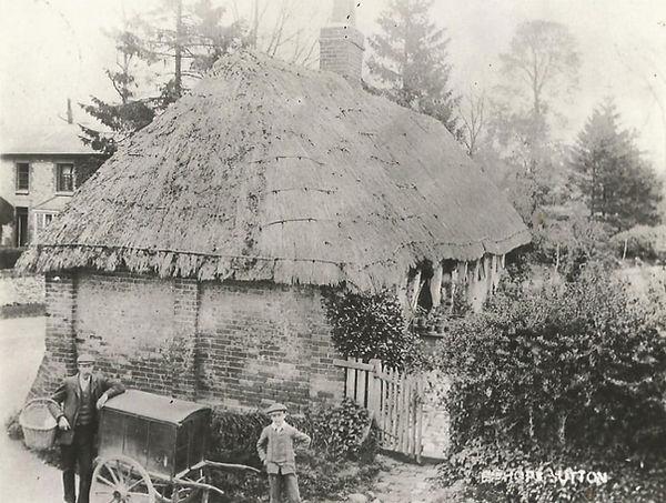 Bishop's Sutton, the Alms House c1906