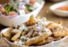 Bovine-Restaurant-salad, fries, wedges a