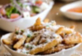 Bovine-Restaurant-salad, fries, wedges a