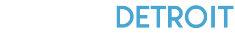 Digital Detroit Media Logo white and blu