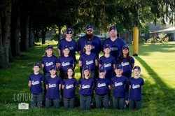 Sunfield SPY's Rookie Softball Team