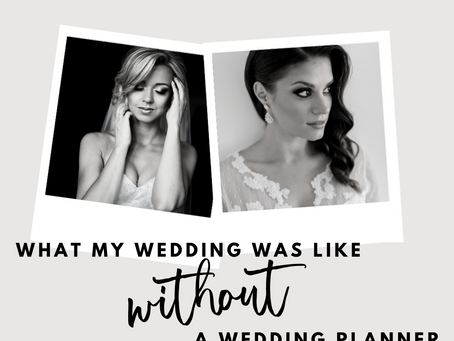 Brides tell: what my wedding was like without a wedding planner
