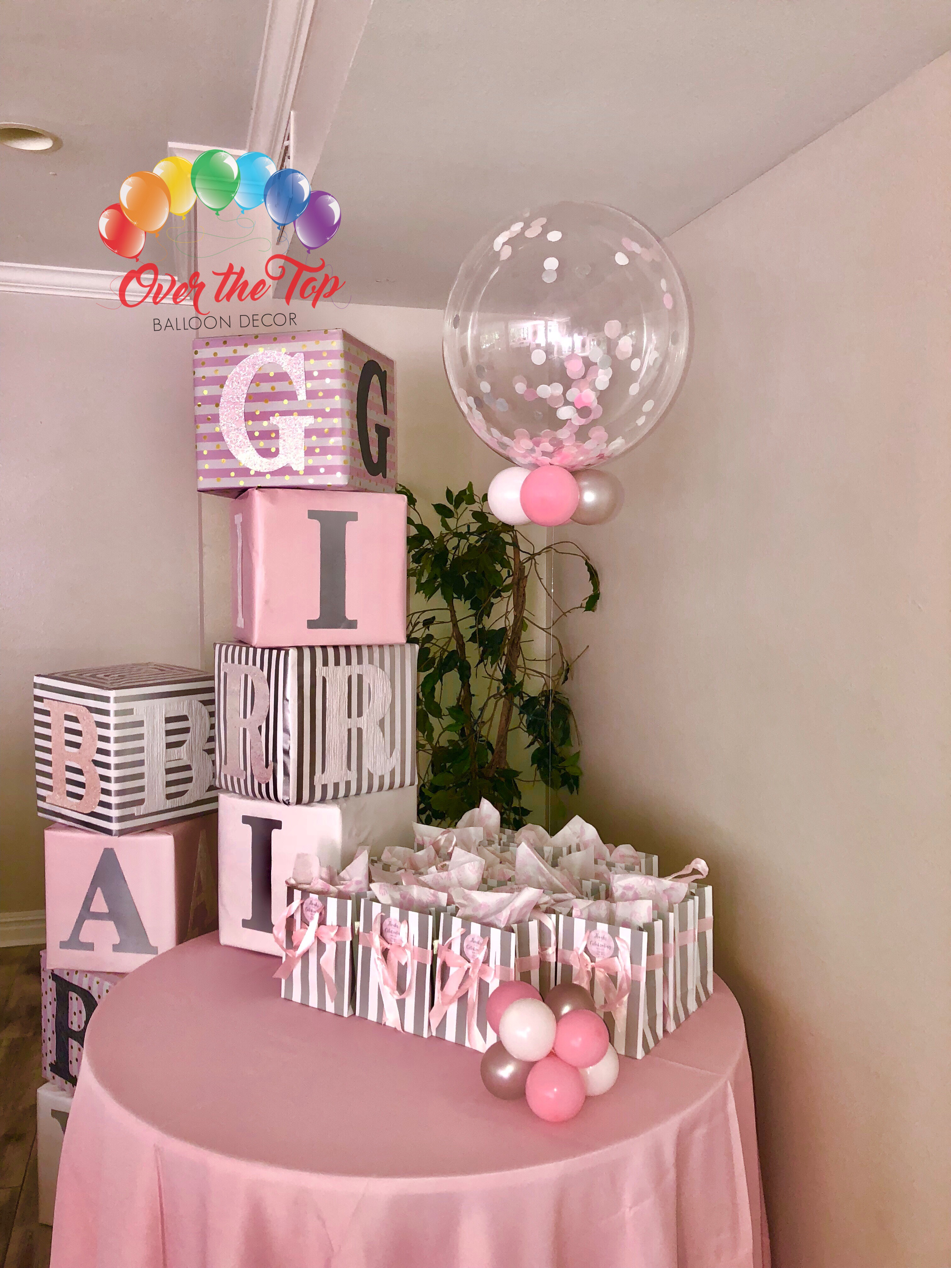 Decor Bubble with Confetti