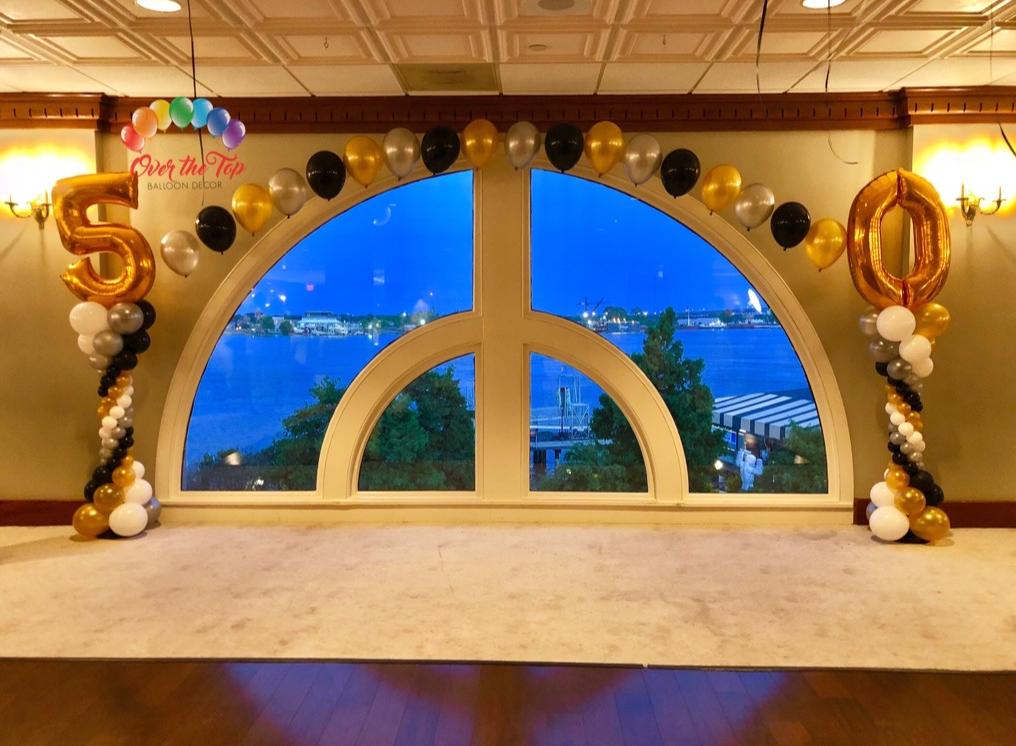 Custom Pearl Arch