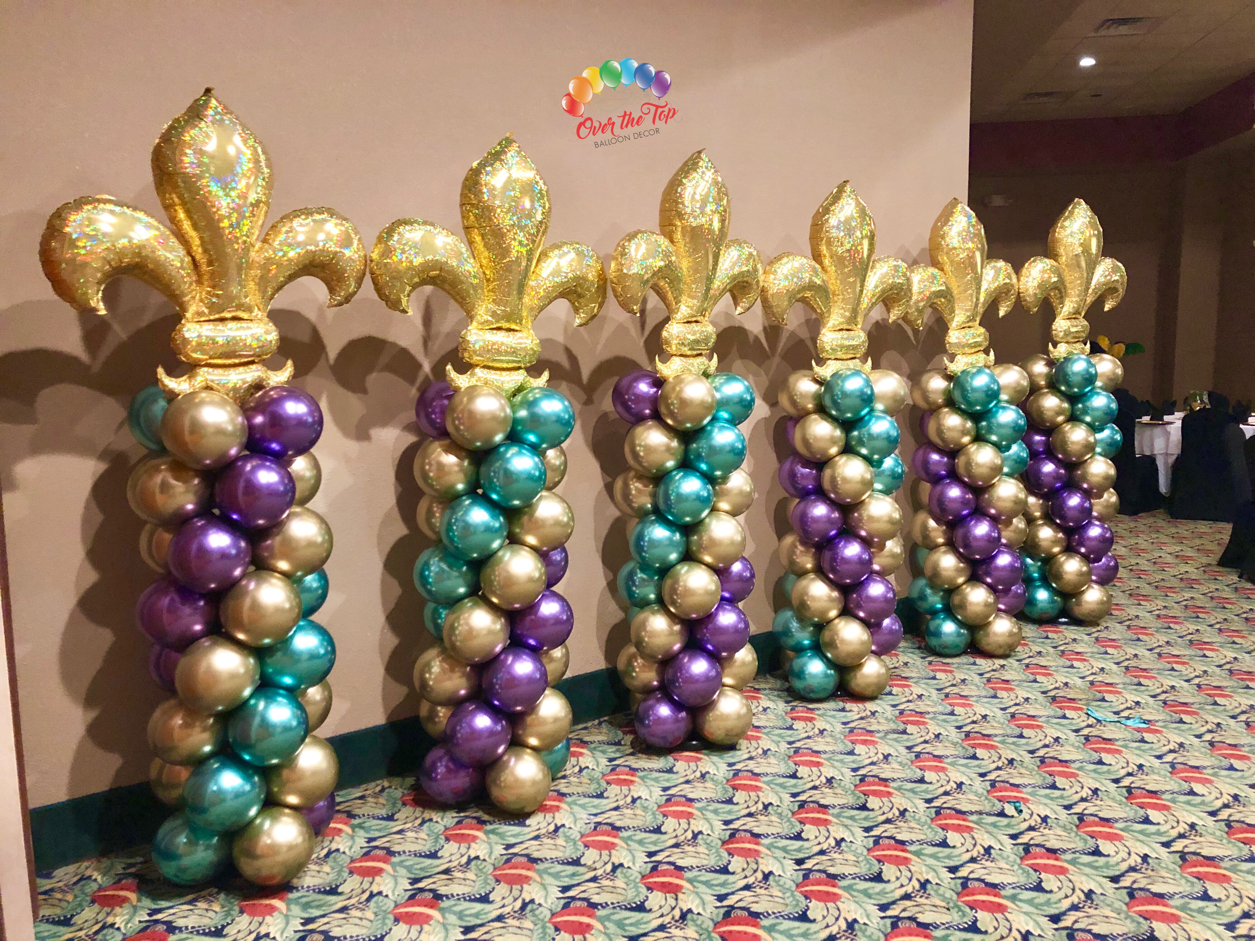 Mylar Balloon Column