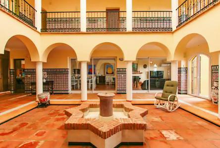 Inside of Villa