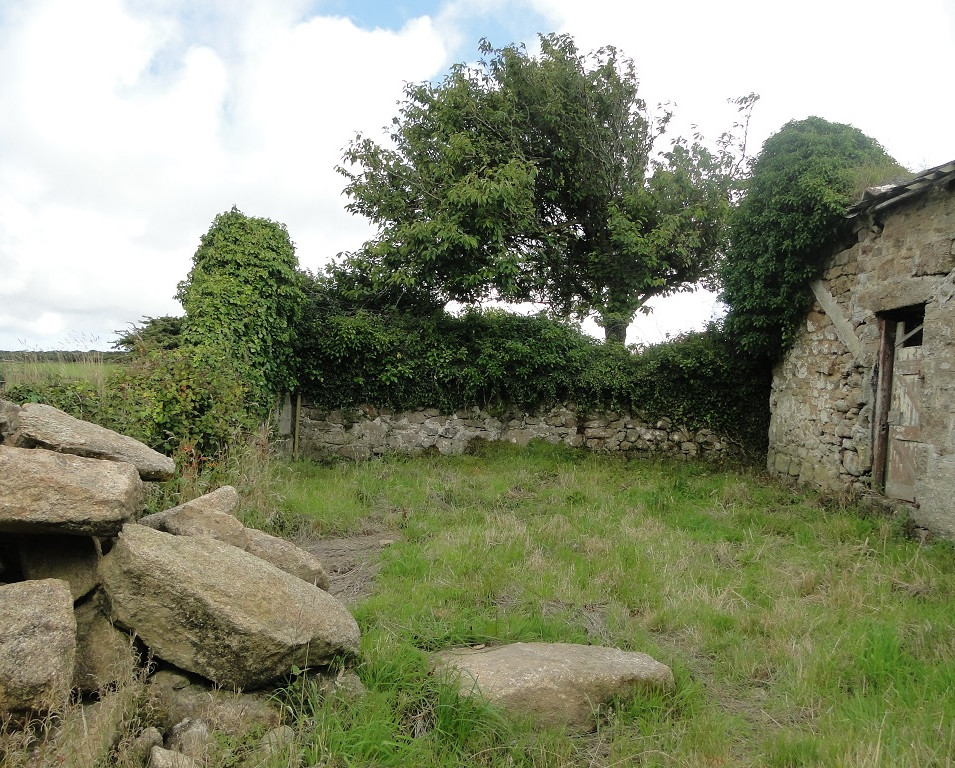 Original barn before conversion works near Penzance