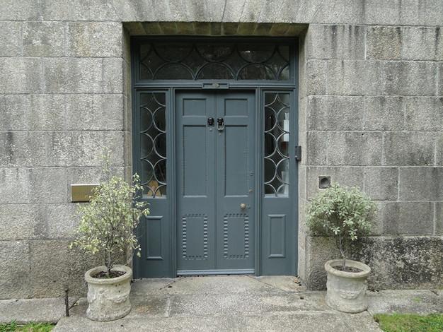 Original main entrance