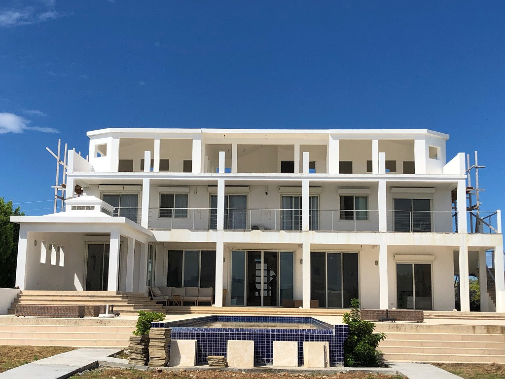 Top floor penthouse suite added to Carribean property in Anguilla.