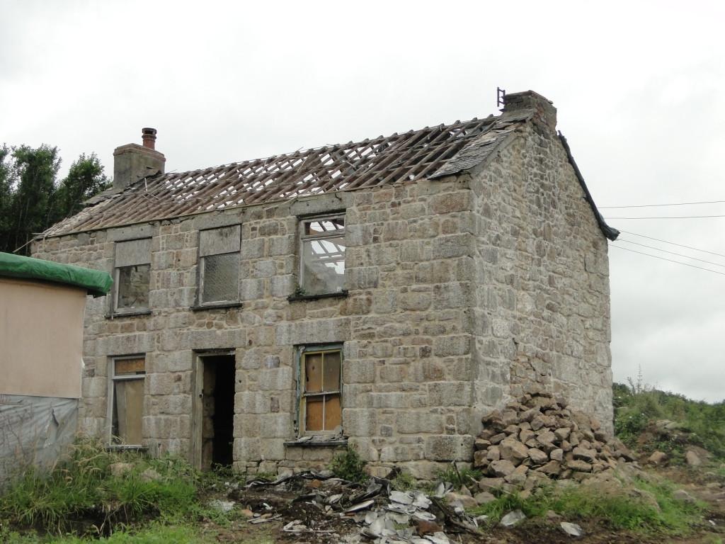 Stripping back original cottage