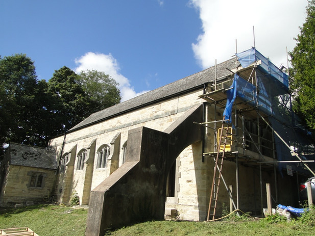 Original church before conversion in Truro, Cornwall.
