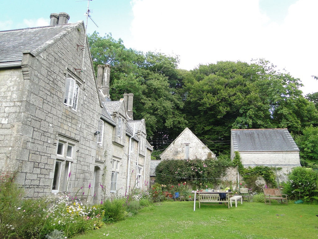 Original Grade II Listed house, stabling and garage in Camborne, Cornwall.