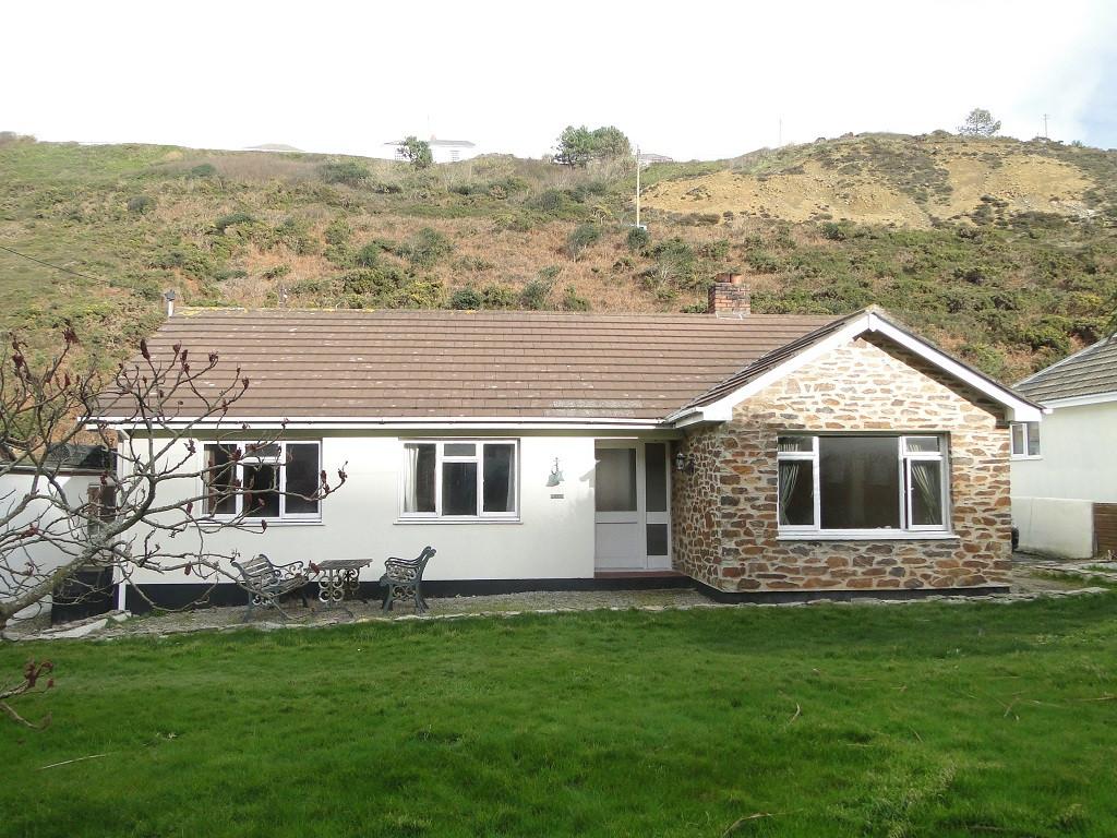 Original bungalow before demolition in Porthtowan, Cornwall.