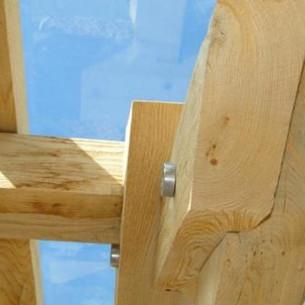 Oak frame detail