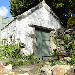 Renovation of Grade II Listed potting shed in St Ives, Cornwall.