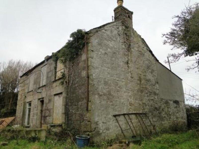 Original derelict Cornish cottage