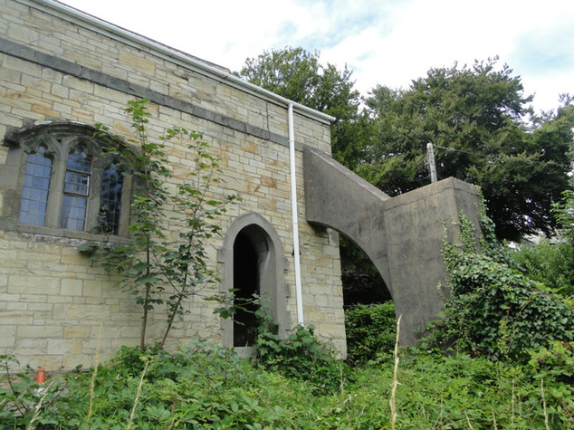 Original church before conversion in Truro, Cornwall.