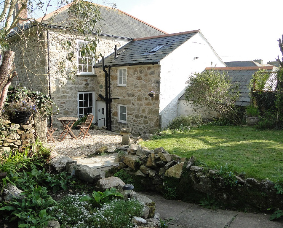 Renovation of Grade II Listed house in St Ives, Cornwall.