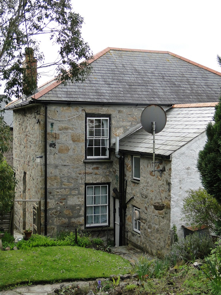 Original Grade II Listed house before restoration and renovations.