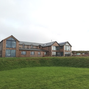 Rear extension to Bawden Manor Farmhouse in St Agnes